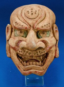 Декоративная маска «Сисигути», 2015 г